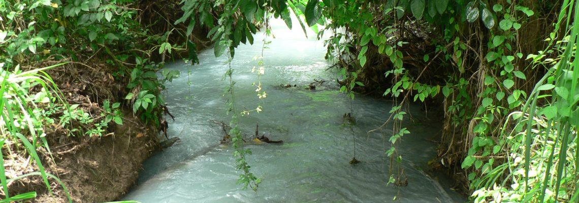 sulfur stream